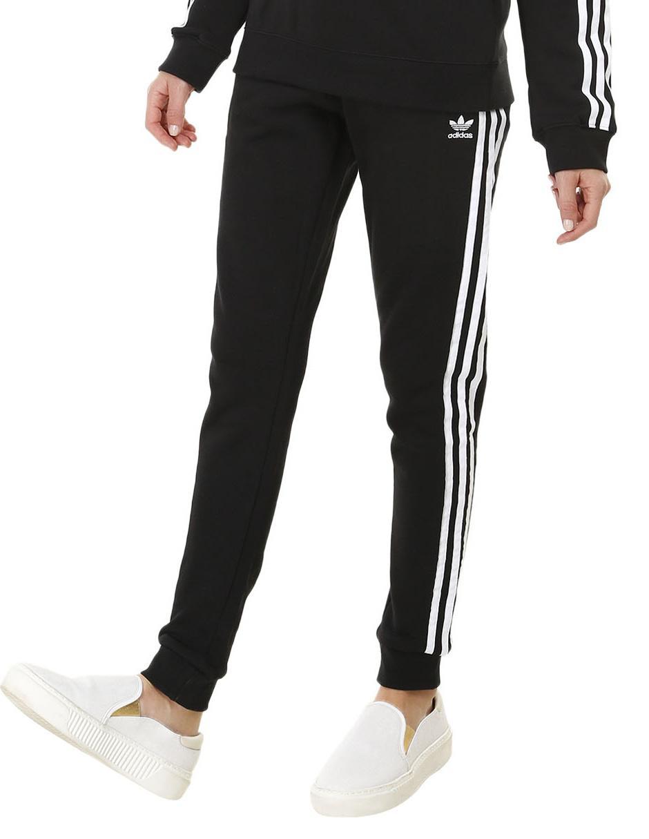 Pants liso Adidas Originals algodón negro