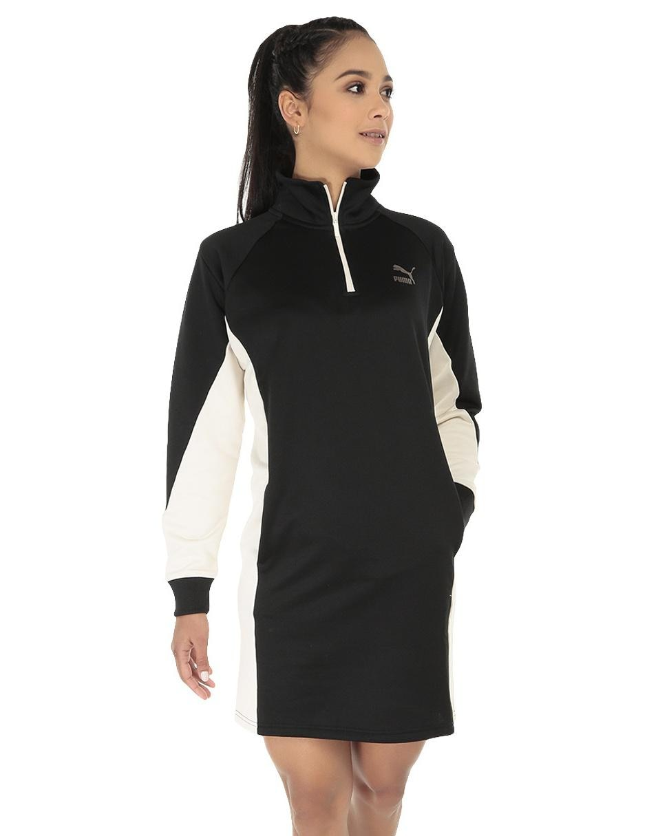 Vestido Puma Negro Casual
