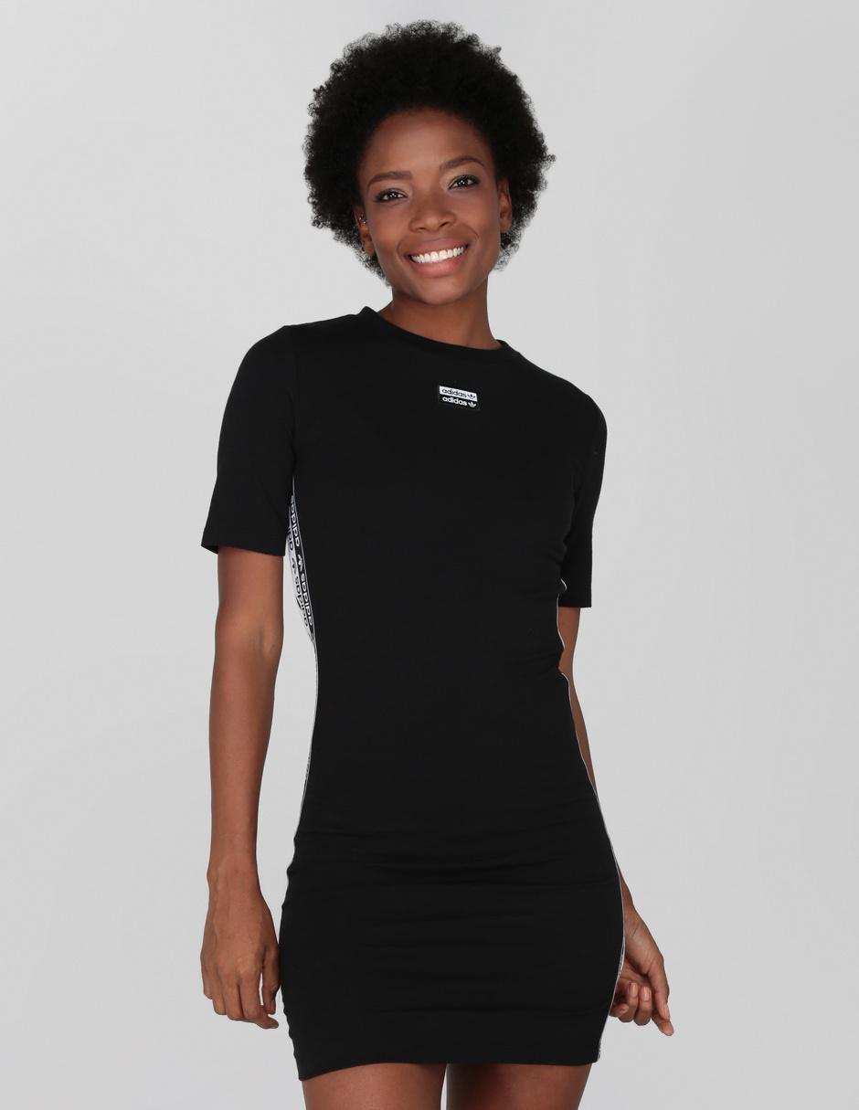 Es tierra principal mensaje  Vestido casual Adidas Originals negro en Liverpool